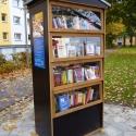 Bücherschrank Flensburg Mürwik, Marrensdamm/Ecke Süderlücke