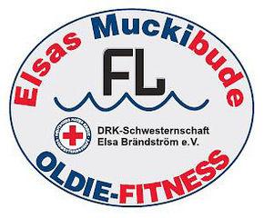 Logo Elsas Muckibude Flensburg macht Spass