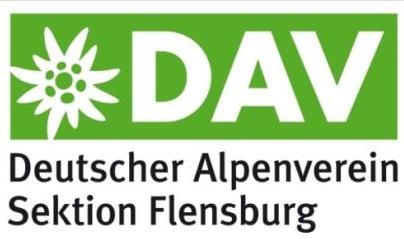 Logo DAV Sektion Flensburg macht Spass